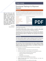 Functional Testing of a Payment System