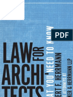 Law for Architects
