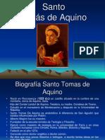 Biografía de Santo Tomas