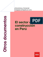 Informe Sector Construcción en Peru 2011