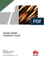 BBU3900 Installation Guide-(V300R008)(PDF)