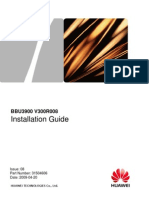 BBU3900 Installation Guide-(V300R008)(PDF)