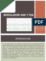 Modulador ASK y FSK
