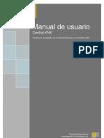 Central Alarma KNX Manual Usuario