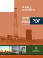 Breaking Shale Gas Rules