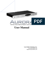 Lynx Aurora User Manual