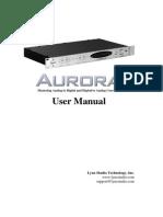 Lynx Aurora User Manual