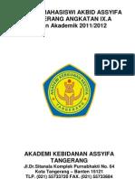 Daftar Mahasiswi Akbid Assyifa Tangerang Angkatan Ix