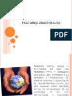 Factores Ambientales y Ecosistemas