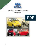 The Tata Nano Advertising Strategy