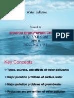 water polutiuon
