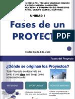 Unidad i - Formulacion y Evaluacion de Proyectos