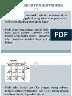 Semikonduktor intrinsik