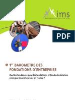 Barometre Fondations 2012 IMS