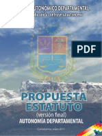 Prop. Estatuto