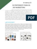 Guía de Pinterest para gerentes de Marketing