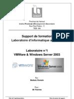 Labo 1 - Windows Serv 2003