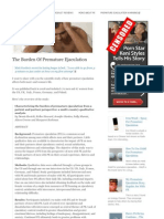 How to overcome premature ejaculation pdf