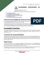 Tipos de Sociedades Mercantiles Guatemala