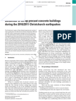 Behaviour of Tilt-Up Precast Concrete Building During the 20102011 Christchurch Earthquakes