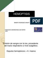 Hemoptisis Ok