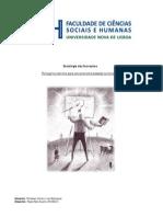 Sociologia das Inovações - Trabalho Individual