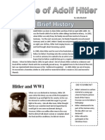 Rise of Hitler Worksheet