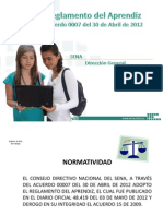1- Reglamento Aprendiz Presentacion Acuerdo 0007 de 2012