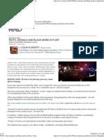 Riots, denials and black mobs in Flint »
