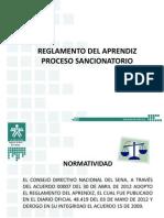 2. Reglamento Del Aprendiz.proceso Sancionatorio Acuerdo 007 de 2012 Pptx