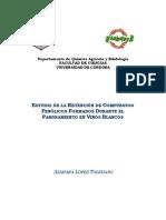 ESTUDIO DE LA RETENCIÓN DE COMPUESTOS FENOLICOS FORMADOS DURANTE EL PARDEAMIENTO EN VINOS BLANCOS