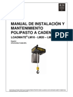 LM16-20-25 I&M MANUAL-2010-1_SP