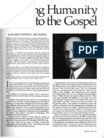 Richards, Stephen L. - Bringing Humanity to the Gospel - 1932 Conf Talk