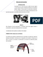 Fabricación del neumático