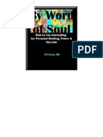 By Word of Soul  How to Use Journaling for Personal Healing by LB (Elle Beah) Lacey, M.A.