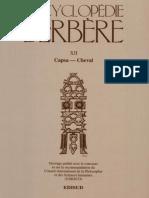 Encyclopédie Berbère Volume 12