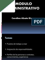 Modulo Administrativo