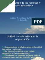 Unidad1 - Informatica en La Organizacion - Clase1