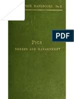 Pigs, breed and management