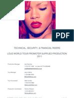 Rihanna Loud Master Local Promoter