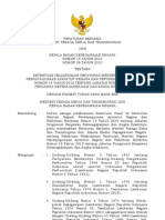 Peraturan Bersama Menteri Tenaga Kerja Dan Transmigrasi Dan Kepala Badan Kepegawaian Negara