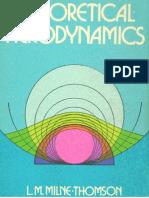 Milne-Thomson - Theoretical Aerodynamics