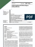 NBR 10307 EB 1849 - Transformadores de Faixa Larga e Grande Potencia