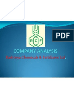 RCF Company Analysis
