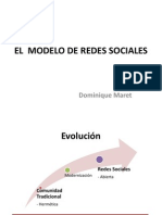 El Modelo de Redes Sociales Domi