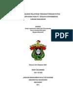 Analisis Pengaruh Pelatihan Terhadap Produktivitas Kerja Karyawan Pada Pt. Erajaya Swasembada Cabang Makassar