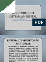 Monitoreo Del Sistema Ambiental