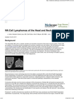 NK-Cell Lymphomas of the Head and Neck