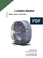 Motor rotativo Wankel, estudio, diseño y construccion