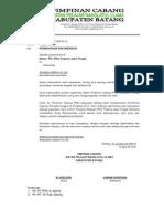 Contoh Surat Permohonn Rekomendasi